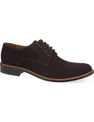 KURT GEIGER Albert suede Derby shoes