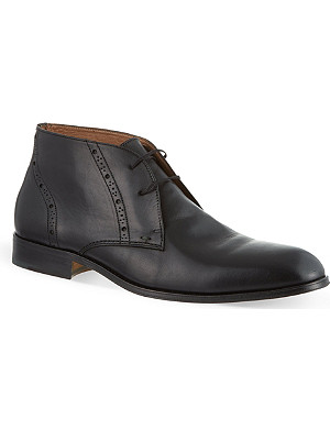 KURT GEIGER Chisel leather boots