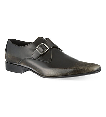 KG KURT GEIGER Salako monk shoes (Grey/d.cmb