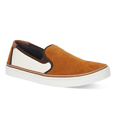 TED BAKER Teutra slip-on trainers (Tan
