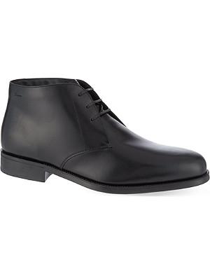 FERRAGAMO Pioneer 2 chukka boots