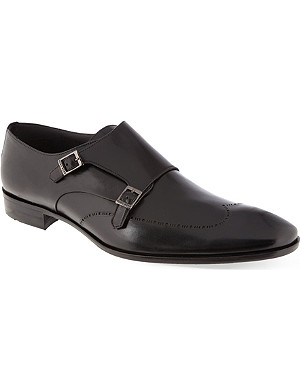 HUGO BOSS Celtan double monk shoes