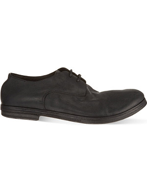 MARSELL Listello brush Derby shoes