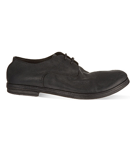 MARSELL Listello brush Derby shoes (Black