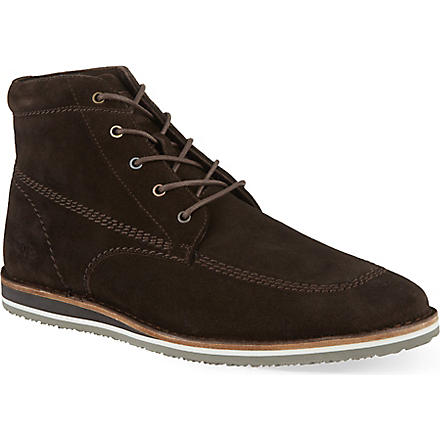 HUGO BOSS Voletto moccasin boots (Brown
