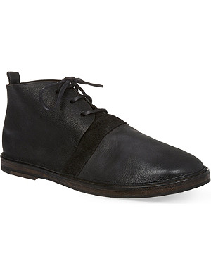 MARSELL Strasacco mix chuck boots