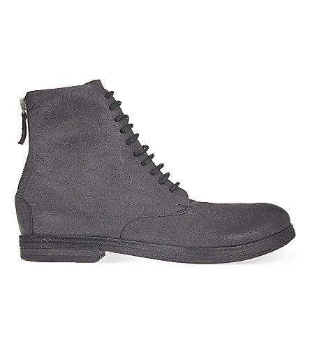 MARSELL Listello military boot (Black