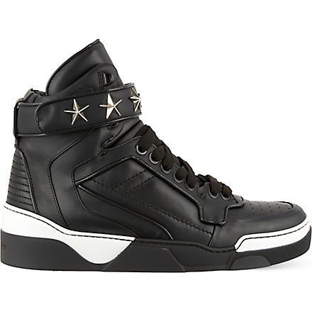 GIVENCHY Tyson star high tops (Black