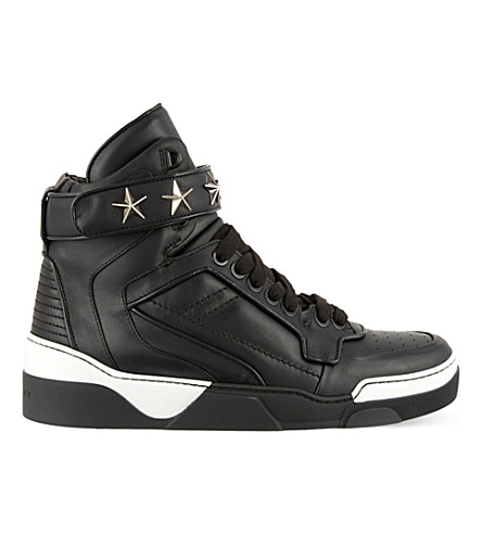 GIVENCHY Tyson star high tops (Black