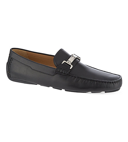 BALLY Waliu HB driving shoes (Black