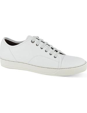 LANVIN Clean toe cap trainers