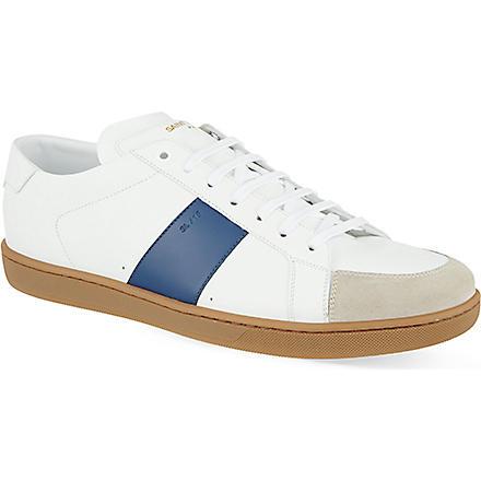 SAINT LAURENT Gum stripe trainers (White/oth