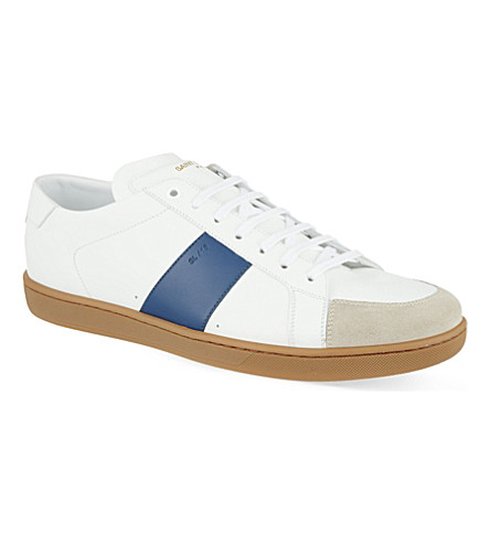 SAINT LAURENT Gum stripe trainers (White/oth