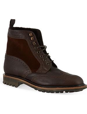 KURT GEIGER Hunt brogue boots