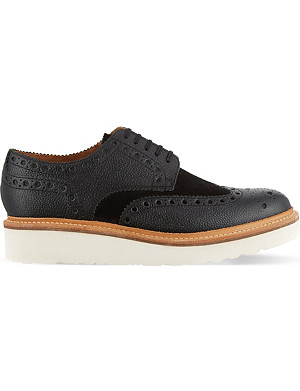 GRENSON Archie flatform Derby shoes