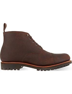 GRENSON Ryan leather boots