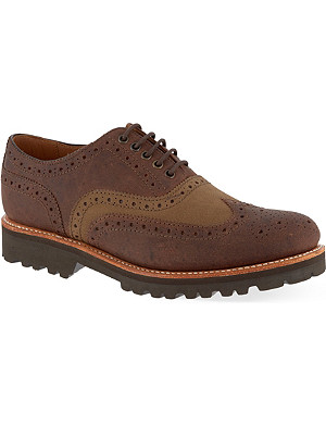 GRENSON Leather brogues