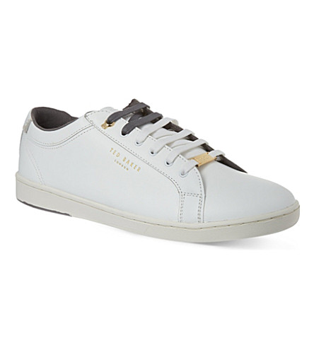 TED BAKER Theeyo trainers (White