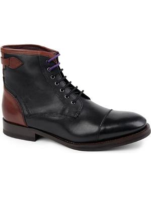 TED BAKER Comptan toecap boots