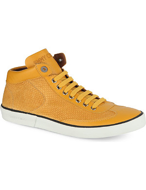 JIMMY CHOO Varley high-top trainers