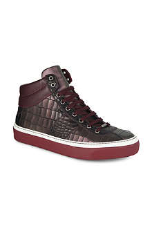 JIMMY CHOO Belgravia high-top trainers
