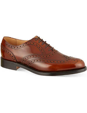 BARKER Padstow high-shine Oxford shoes