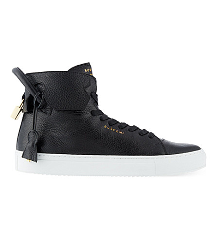 BUSCEMI 125mm handle heels sneakers (Blk/white