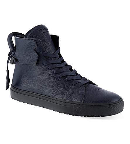 BUSCEMI 125mm handle heel sneakers (Navy