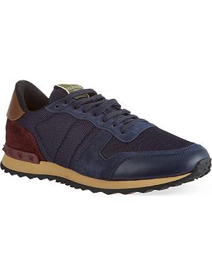VALENTINO Plain running sneakers