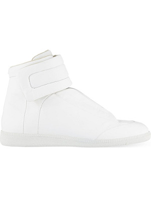 MAISON MARGIELA Future leather hi-top trainers