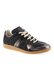 MAISON MARTIN MARGIELA Wool mix replica trainers