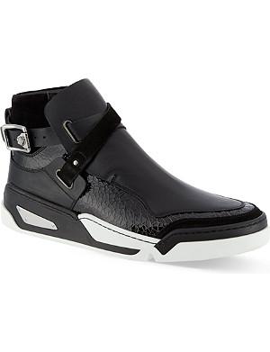 VERSACE Covered hi-top sneakers