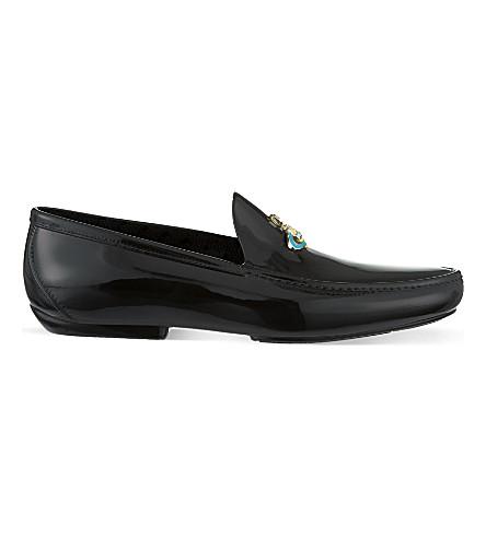 VIVIENNE WESTWOOD PVC orb loafers (Black