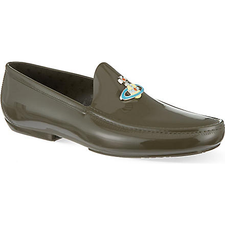 VIVIENNE WESTWOOD New Orb loafers (Green