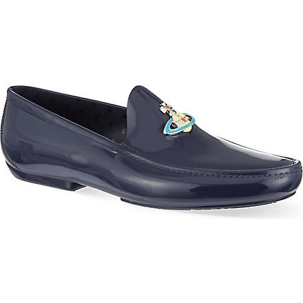 VIVIENNE WESTWOOD New Orb loafers (Navy