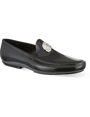 VIVIENNE WESTWOOD Stamp PVC loafers