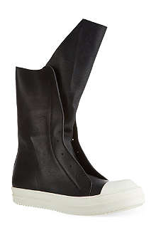 RICK OWENS High tongue trainers
