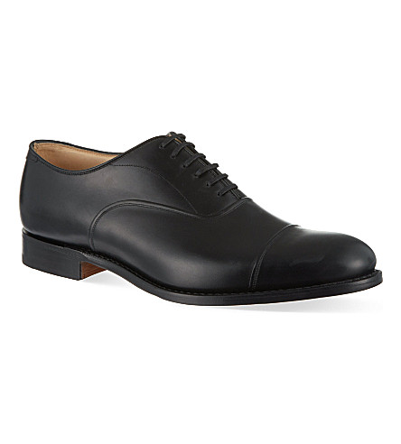 CHURCH Lanark toecap Oxford shoes (Black