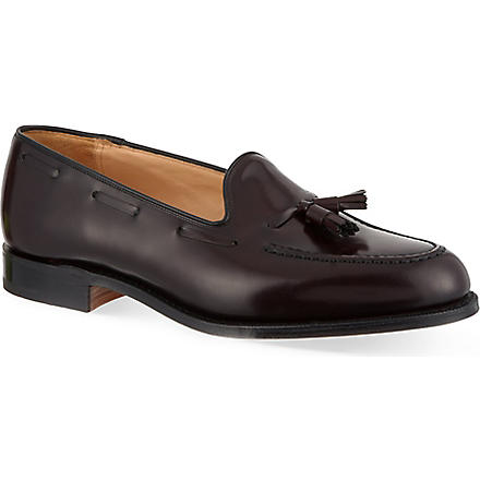 CHURCH Keats leather loafers (Wine