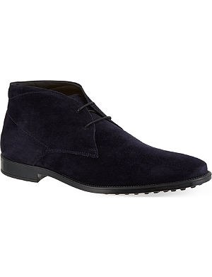 TODS Chukka boots in suede