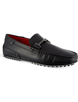TODS Ferrari TT leather driving shoes