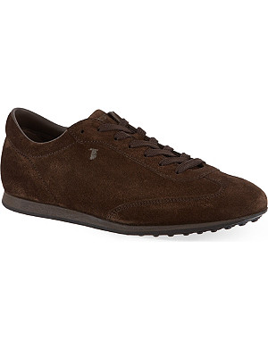 TODS Allacciato suede formal sneakers