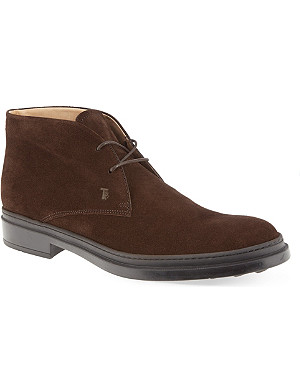 TODS Polacco Gomma chukka boots