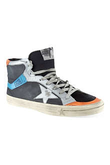GOLDEN GOOSE 2.12 hi-top trainers