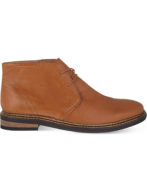 KG KURT GEIGER Godfrey leather desert boots