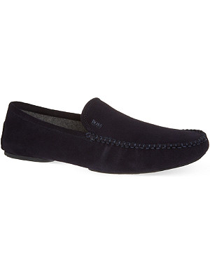 HUGO BOSS Remors suede slippers