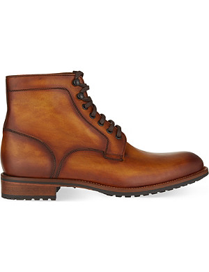 MAGNANNI Marcelo burnished leather boots