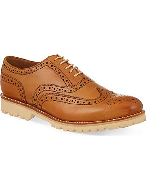 GRENSON Stanley Commando Oxford shoes