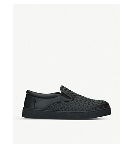 BOTTEGA VENETA Tourmaline outdoor slipper (Black