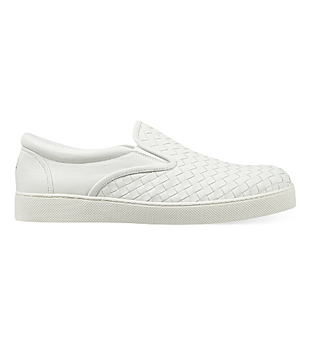 BOTTEGA VENETA Dodger 2 slip-on trainers (White